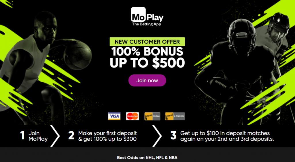Moplay Welcome bonus